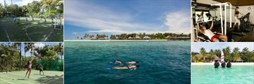 Veligandu Island Resort & Spa, Football, Snorkeling, Fitness Centre, Scuba Diving and Volleyball