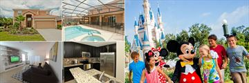 Veranda Palms Homes, and Mickey Mouse and Friends at Magic Kingdom (credit: Walt Disney World)