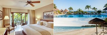Veranda Pointe Aux Biches, Superior Room, Pool and Beach
