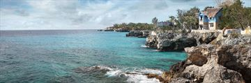 View of Negril Coastline Jamaica