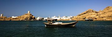 The Omani coast