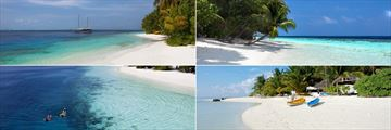 Vilamendhoo Island Resort & Spa, Beach and Water Activities