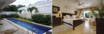 Villa Coral Breeze, Pool and Master Bedroom