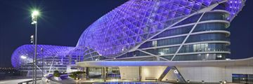 W Abu Dhabi, Yas Island, Exterior