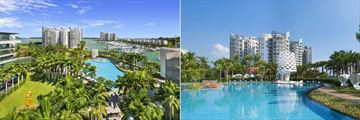 W Singapore - Sentosa Cove, Hotel Gardens, Wet Pool and Wet Bar