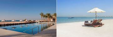 Waldorf Astoria Ras Al Khaimah, Pool and Beach
