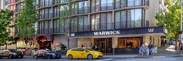 Warwick Hotel, Exterior