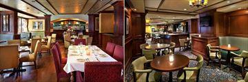 Warwick Hotel, Margaux Restaurant Dining Area and Margaux Restaurant Bar and Lounge