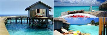 Ras Fushi Resort water villas, Maldives