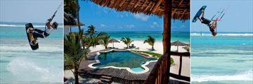 Watersports and Turtle Swimming Pool at WaterLovers Beach Resort, Diani Beach