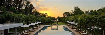 The wellness pool at Layana Resort