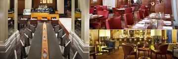 Caruso Restaurant, The Oak Room Restaurant and Clock Bar at Westin St Francis