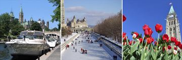 Rideau Canal, Winter Wonderland & Beautiful Architecture in Ottawa