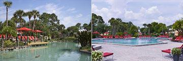 Tropical Lagoon and Pool at Wyndham Orlando Resort