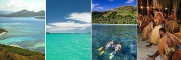 Yasawa Islands, Blue Lagoon & Evening Meke performance