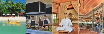 Zazen Boutique Resort, Kayaking, Cooking Class, Yoga and Gym
