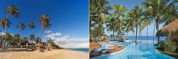 Beach and Infinity Pool at Zoetry Agua Punta Cana