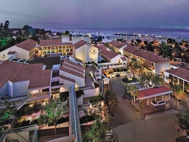 Aerial shot of Porola Hotel & Spa