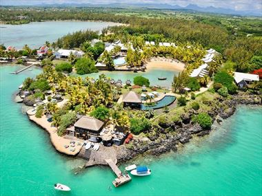 Aerial view at Paradise Cove Boutique Hotel