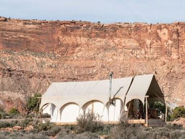 Under Canvas Moab glamping