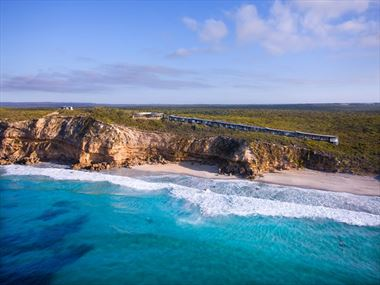 Aerial view of Southern Ocean Lodge
