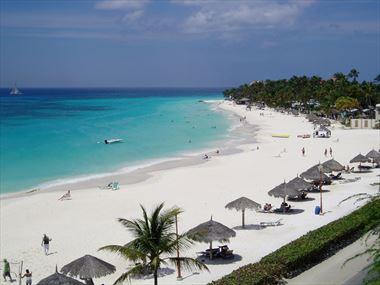 Beach veiw from Divi Village Golf & Beach Resort
