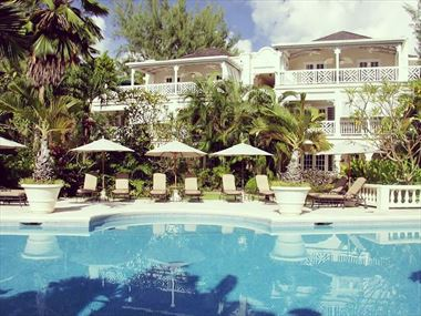 Coral Reef Club pool, Barbados