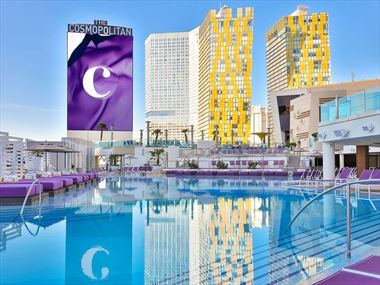 The Cosmopolitan outside pool