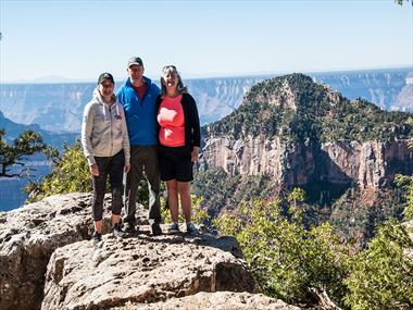 David, Sharyn & Ruth share their USA holiday story with us