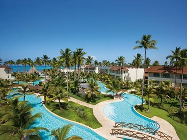 Main pool at Dreams Royal Beach Punta Cana