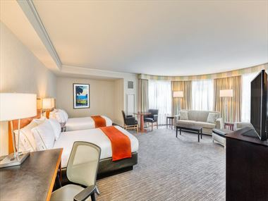 Family Suite at Holiday Inn Express at Fisherman's Wharf