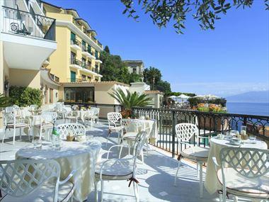 Terrace at Grand Hotel Capodimonte