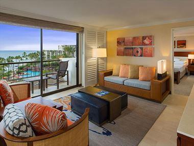 Deluxe Ocean Suite, Hyatt Regency Maui