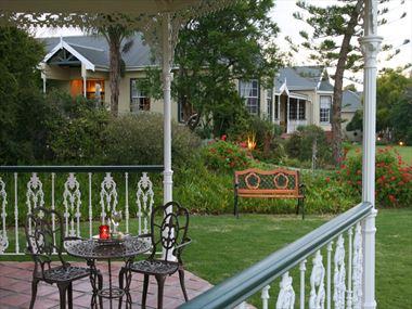 La Plume Guesthouse gardens