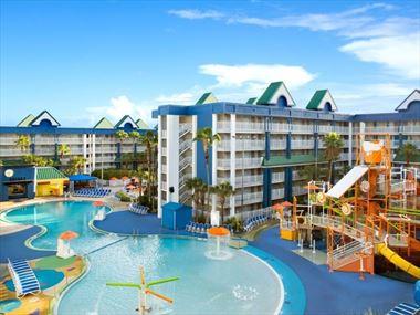 Lagoon Pool, Holiuday Inn Resort Suites & Waterpark