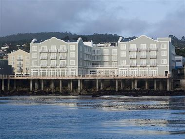 Hotel Exterior from Monterey Bay