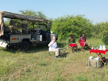 Dave & Alison celebrate their Silver Anniversary in style in Kenya and Zanzibar