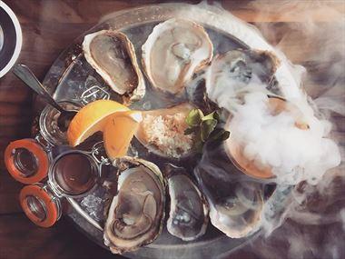 Oysters, Five Fishermen restaurant, Halifax
