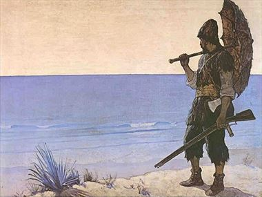 What Robinson Crusoe should have packed
