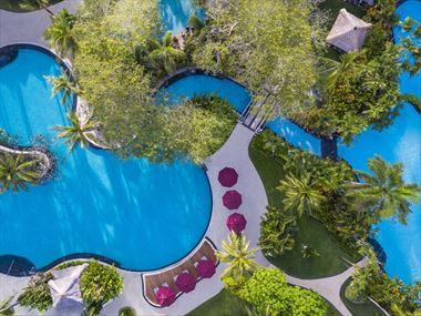Lagoon pools at The Laguna Resort & Spa