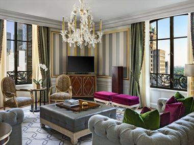 Royal Suite Living Room, The St Regis New York