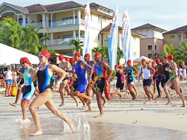 Join Daley Thompson at the Tri St Lucia