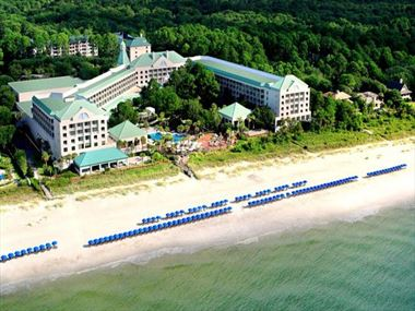 The Westin Hilton Head Island Resort & Spa Aerial View