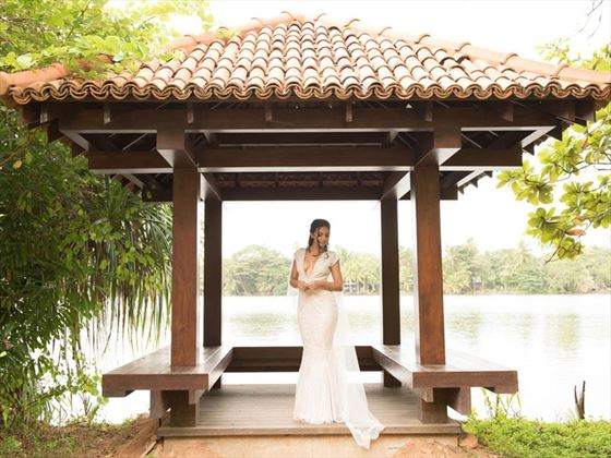 Bride at the Anantara Kalutara Resort & Spa