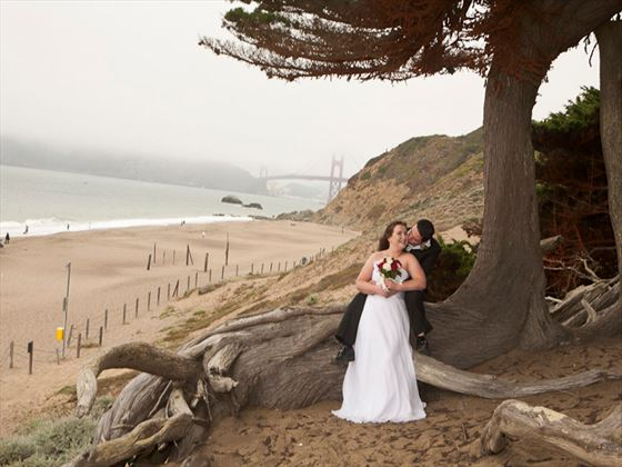 Baker Beach wedding