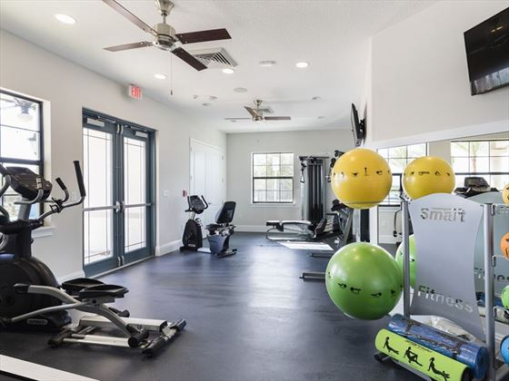 Balmoral Resort fitness room