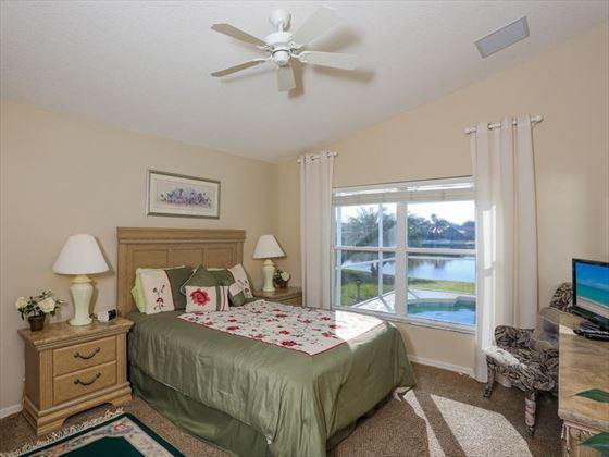 Typical Bradenton Sarasota Area Home - Queen Bedroom