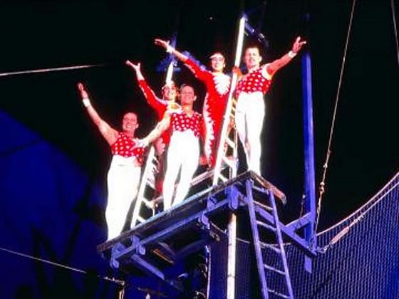 The Adventuredome - Trapeze artists