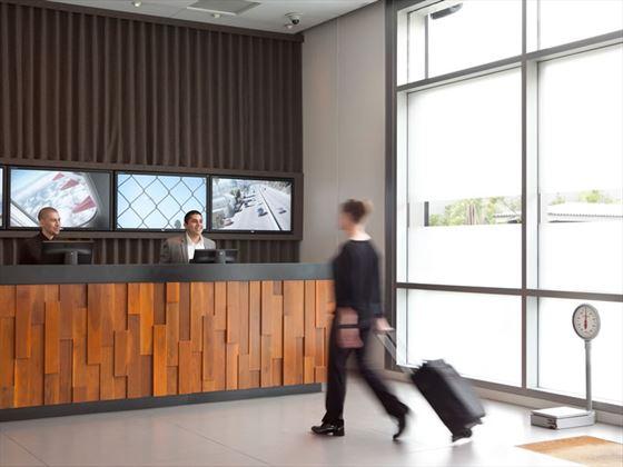 The Custom Hotel lobby