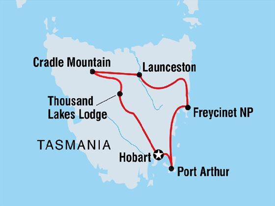 Discover Tasmania 8-day tour